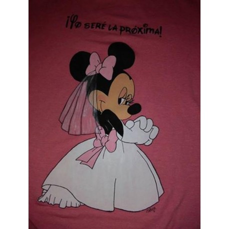 Ramo camiseta Minnie