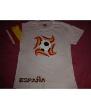 Camiseta mundial futbol España
