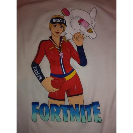 Camiseta Fortnite socorrista