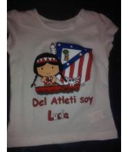 Body o camiseta Atlético